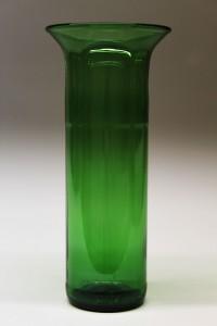 Vase lavet af vinflaske