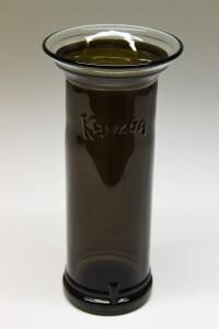Kahlua flaske upcycled til vase