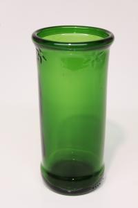 Drikkeglas lavet af Royal X-Mas juleølflaske