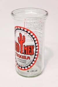 Drikkeglas lavet af Mexicansk ølflaske